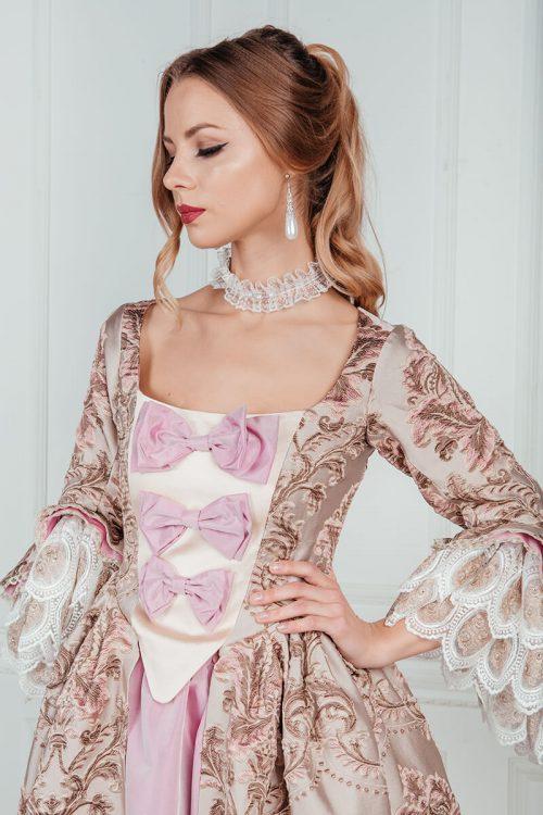 Платья 18 века франция прокат