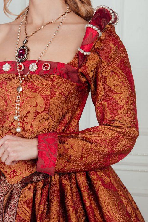 Платье средневековой дамы 16 века