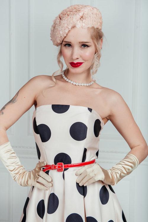 платье +в стиле 50 годов фото