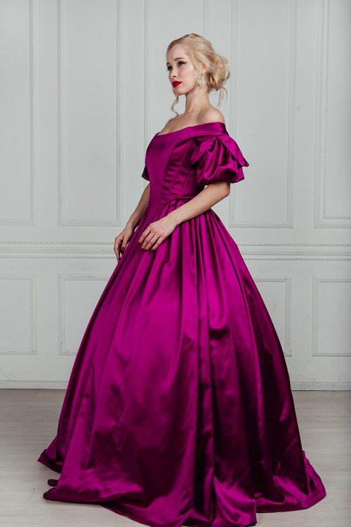 Платье 19 века бальное