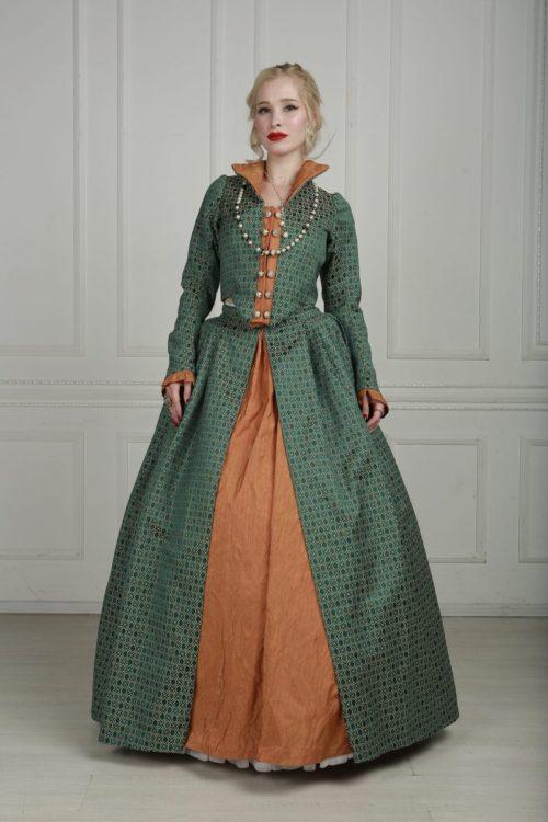 платья 16 века фото