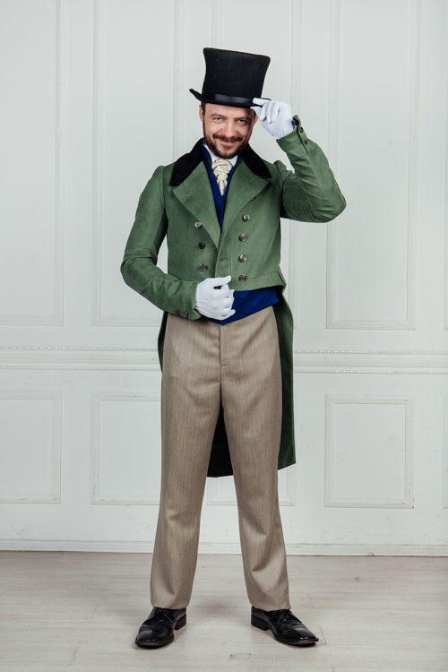 английский костюм 19 века