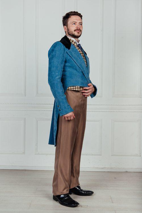 мужской костюм сюртук прокат