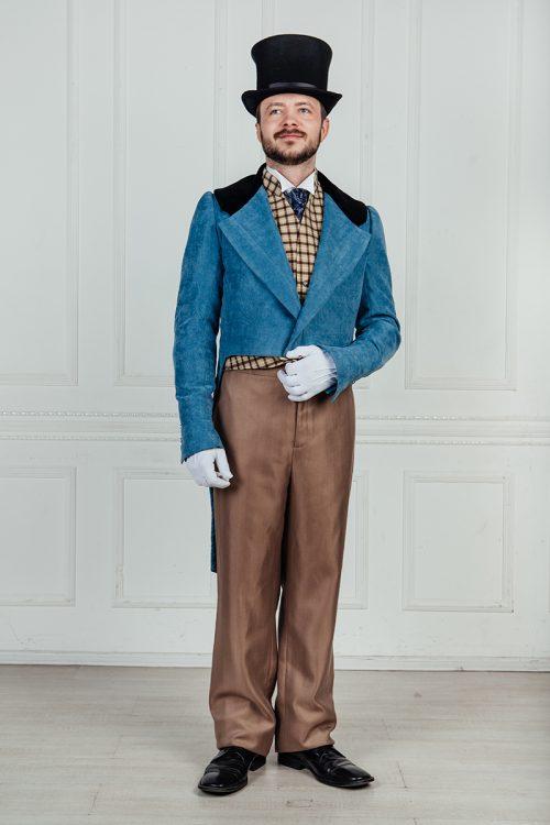 мужской костюм сюртук аренда