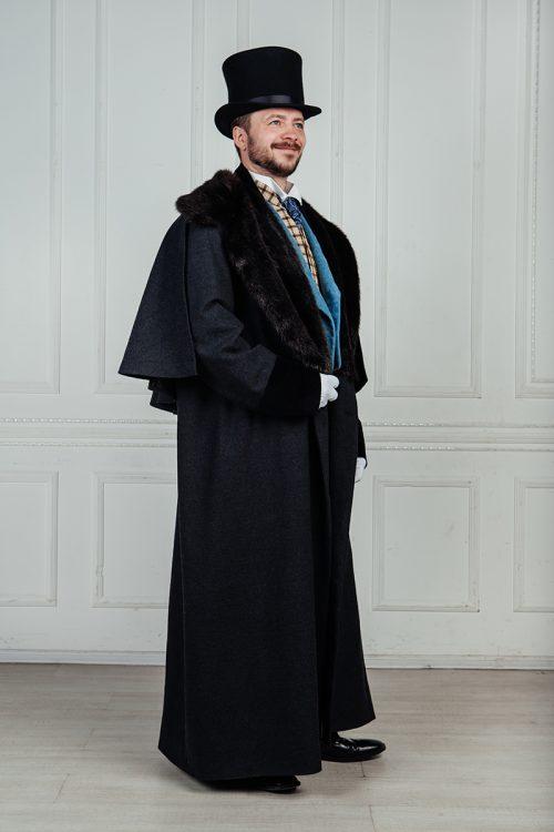 Мужское пальто 19 век аренда