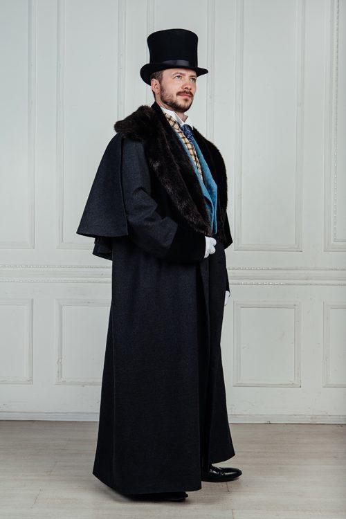 Мужское пальто 19 век прокат