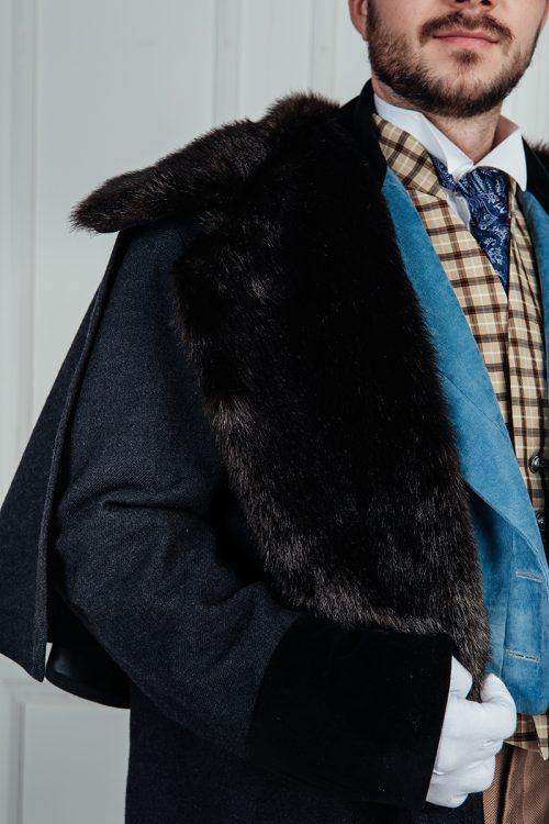 Мужское пальто 19 век
