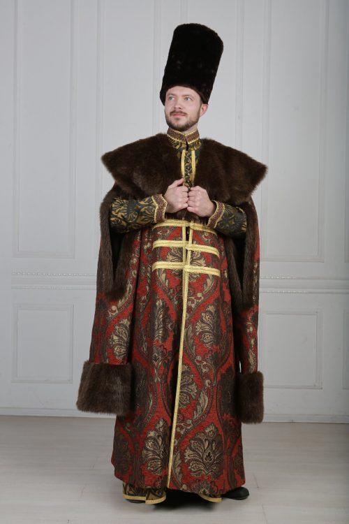 Русский боярский костюм