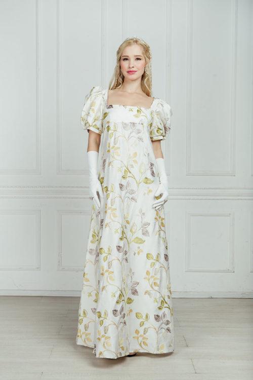 историческое платье ампир напрокат