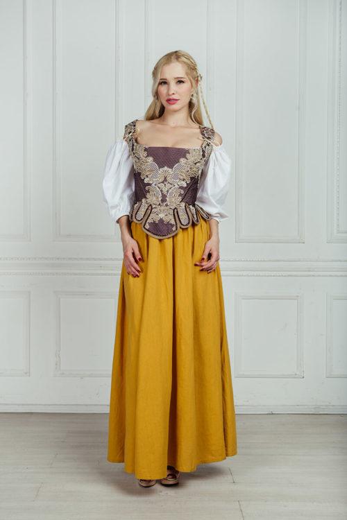 средневековые костюмы напрокат