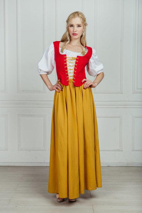 средневековые костюмы напрокат москва