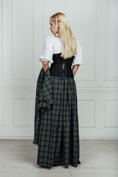 Средневековый шотландский костюм