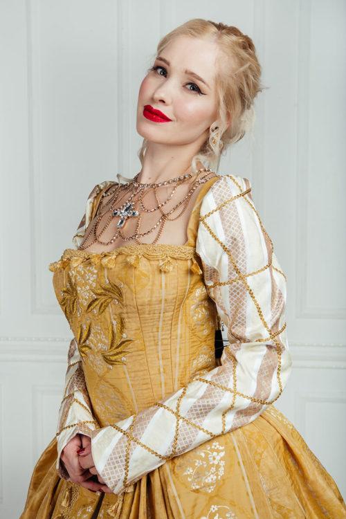 платья эпохи возрождения