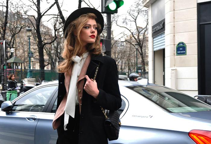 Фотосессия в стиле Париж