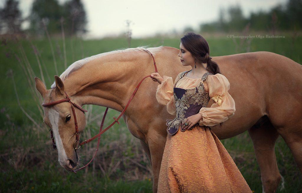 Фотосессия с лошадьми Москва