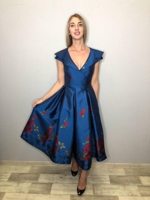 Платье в стиле Нью лук аренда