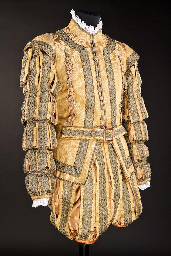 мужской костюм тюдоров