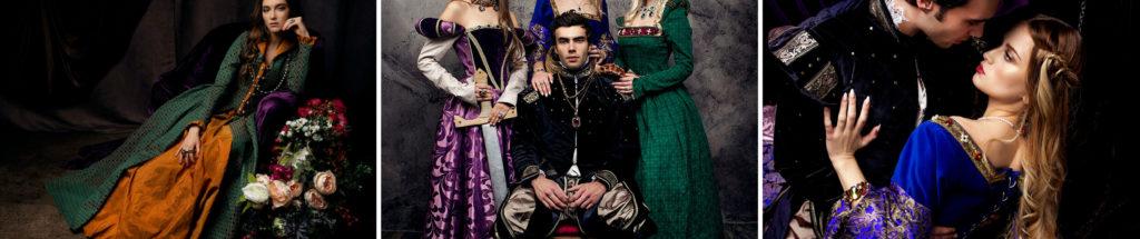 Королевская фотосессия Тюдоры