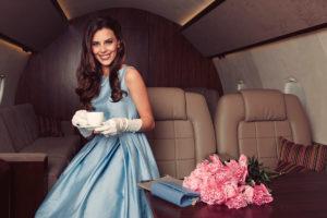 Фотосессия в частном самолете Москва