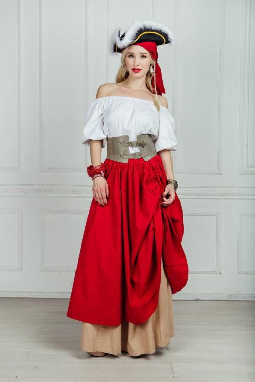 Пиратский женский костюм