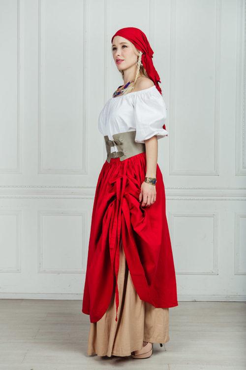 Пиратский женский костюм прокат