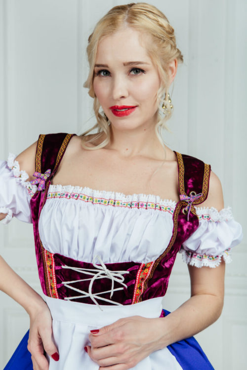 Костюм баварской девушки прокат