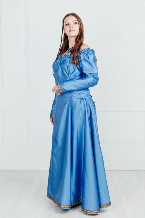 Платье раннего средневековья