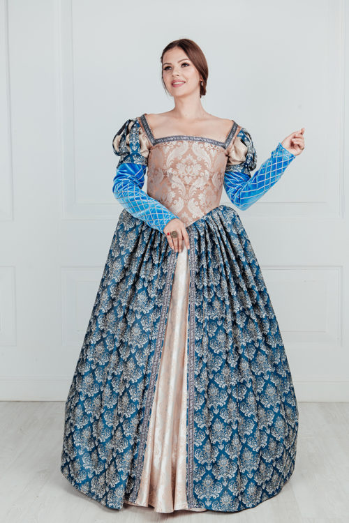 Платье эпохи ренессанс прокат
