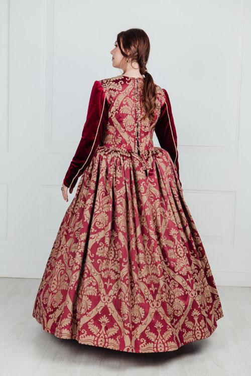 Платье знатной дамы 16 века