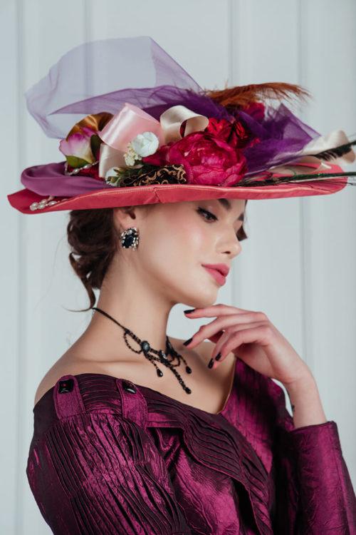 женские шляпы модерн прокат