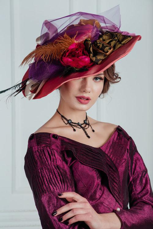 женские шляпы модерн аренда