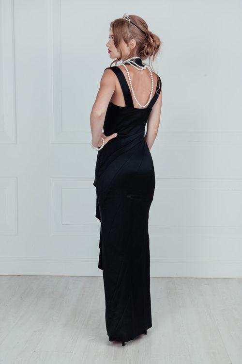 черное платье завтрак +у тиффани