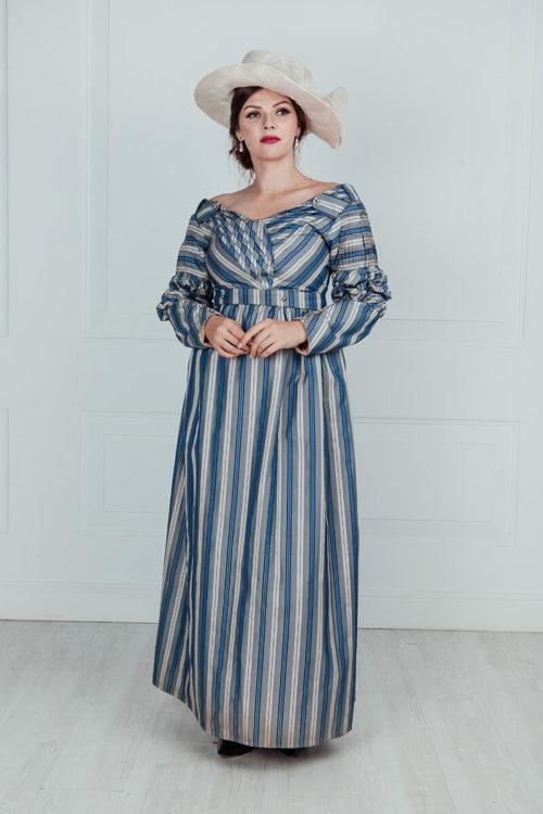Платье прогулочное 19 век