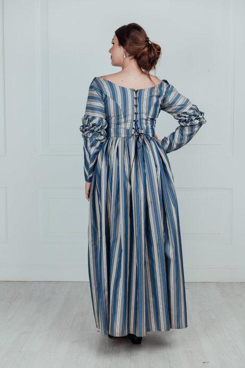 Прокат платья 19 века для прогулок.