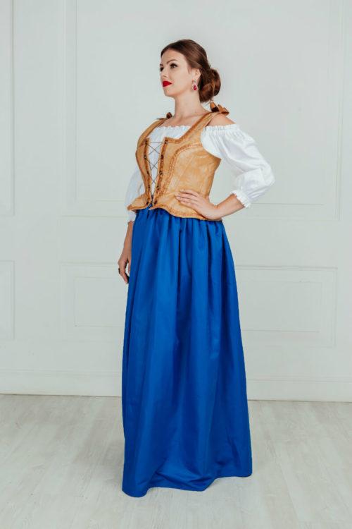 Женский костюм эпохи Возрождения (15-16 век)