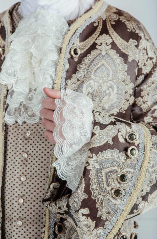 Дворянский костюм 18 века