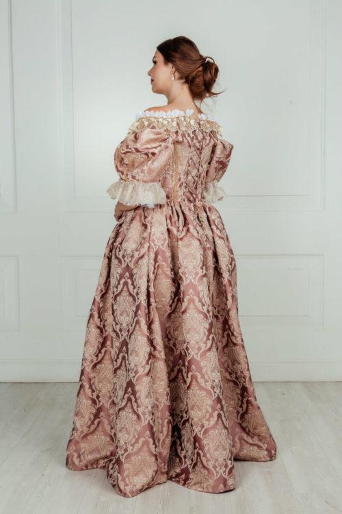 Платье 17 века Барокко