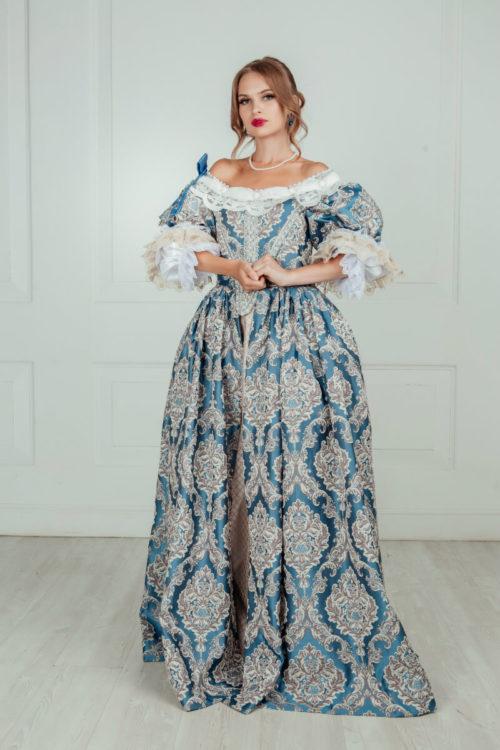 Платье Анна Австрийская (17 век)