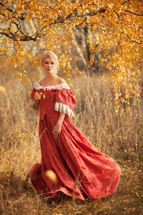 Платье 17 века прокат