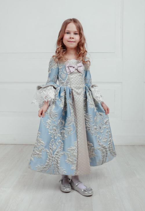 Платье 18 века на девочку Версаль