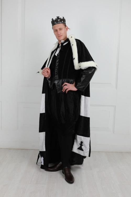 Шахматный король костюм взрослый