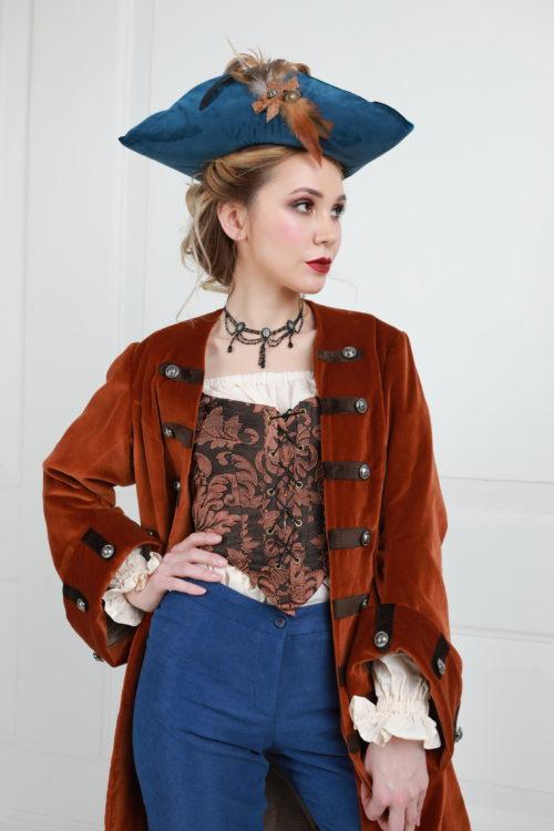 Пиратский костюм женский