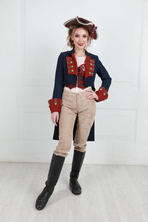 костюм пирата женский