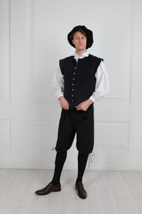 Средневековый костюм 16 век