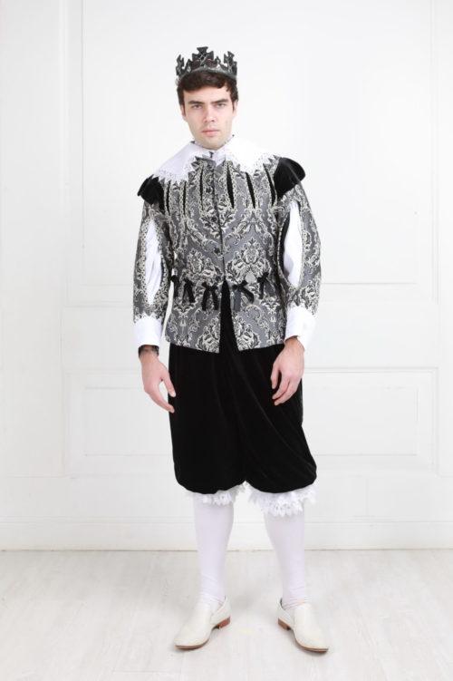 Чёрный принц костюм прокат