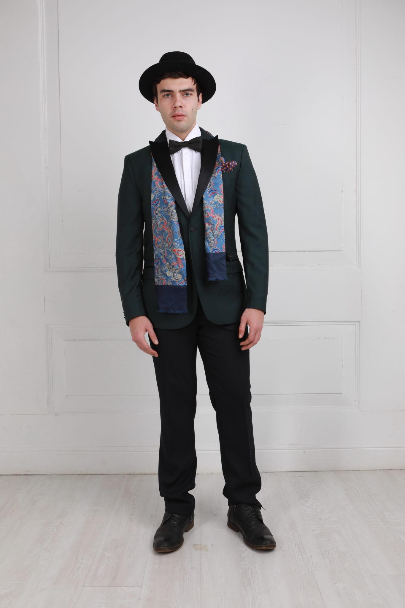 Мужской наряд в стиле гэтсби флис ткань купить в розницу в москве