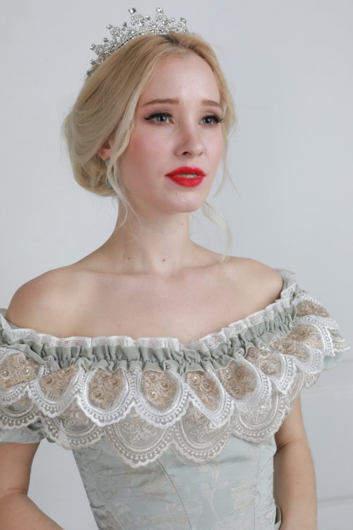 Бальное платье 19 века прокат