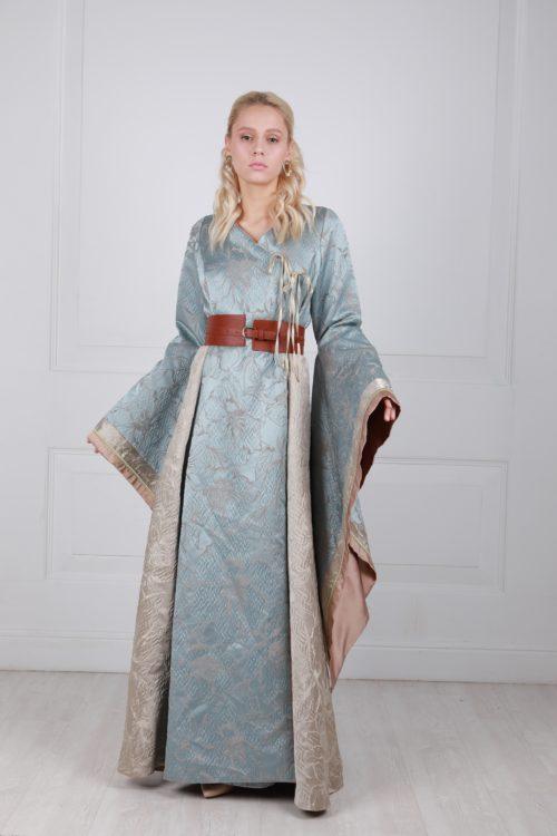 Платье серсеи голубое