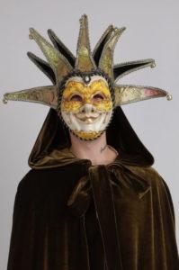 венецианская маска солнце