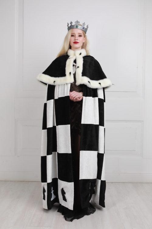 Шахматная королева костюм